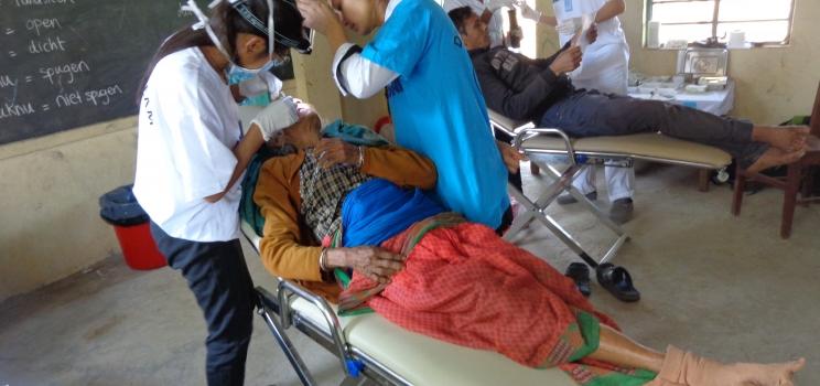 Training van de healthworkers